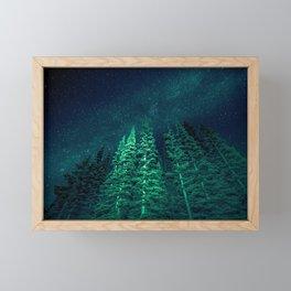 Star Signal - Nature Photography Framed Mini Art Print