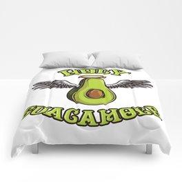 Holy Guacamole | Funny Avocado Saying Comforters