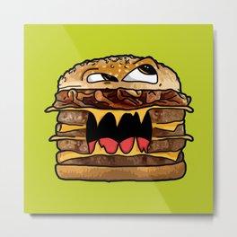 Suicide Burger Metal Print