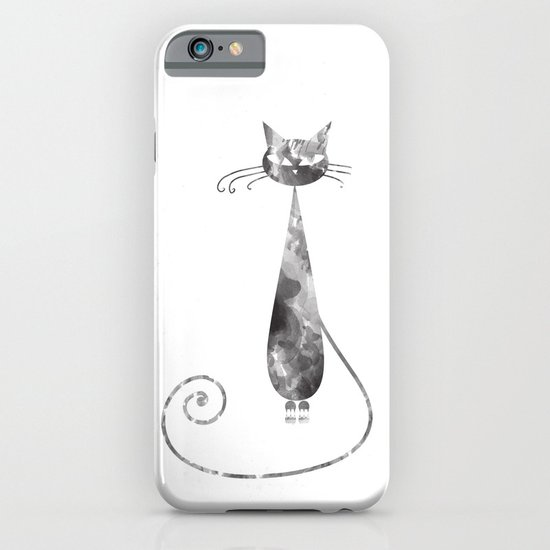 Serious Cat iPhone & iPod Case