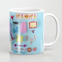 Miniature Collage: Crafting Coffee Mug