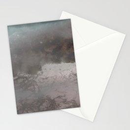 negative sea Stationery Cards