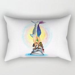 Yogi Kiss Rectangular Pillow