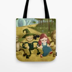 Wizard of Oz fan art Tote Bag