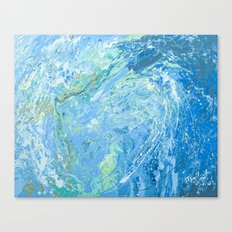 Mary's wave. Canvas Print