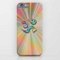 Rainbow Sunburst OM iPhone 6s Slim Case