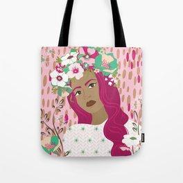 Floral & Feminine - Empowered Tote Bag