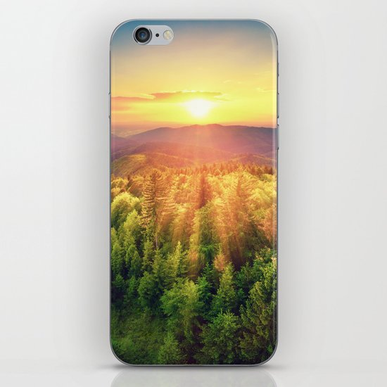 majestic sunrise iPhone & iPod Skin