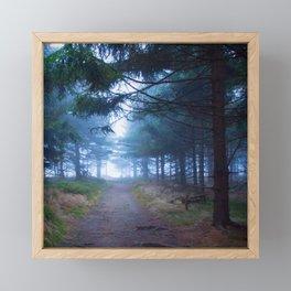 Path to the light Framed Mini Art Print