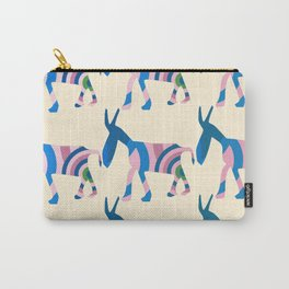 Donkey Parade Carry-All Pouch