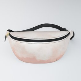 Cotton candy in beige pink Fanny Pack