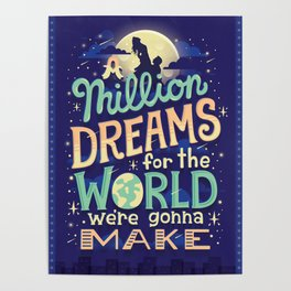A Million Dreams Poster