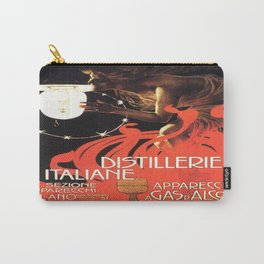 Vintage poster - Distillerie Italiane Carry-All Pouch