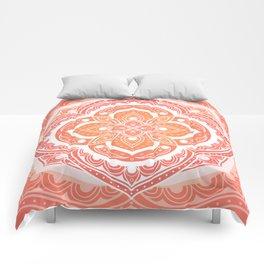 Mandala pattern - Indian floral motif Comforters