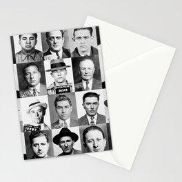 Mobster Mugshots Stationery Cards
