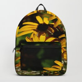 Backed Eyed Susan In Autumn Backpack