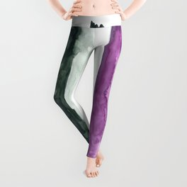 asexual pride flag Leggings