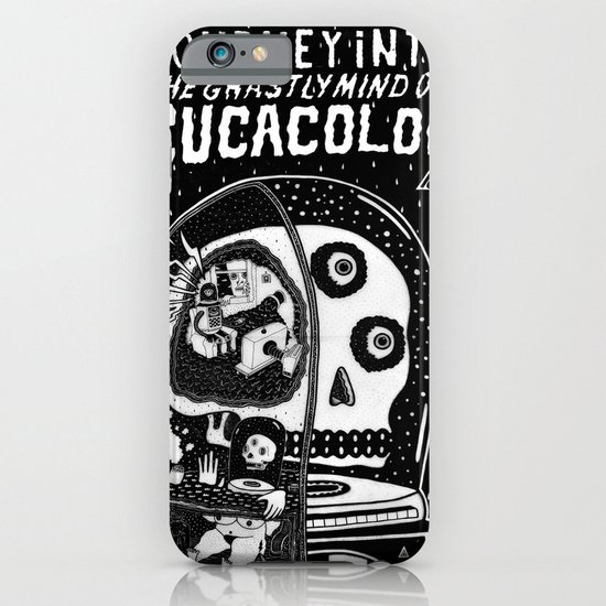 journey in to the ghastly mind of cucacolor iPhone & iPod Case