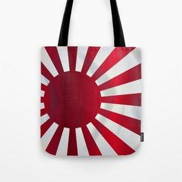 Japanese Rising Sun Flag Tote Bag