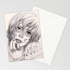 Sugar Skull Girl 2 Stationery Cards