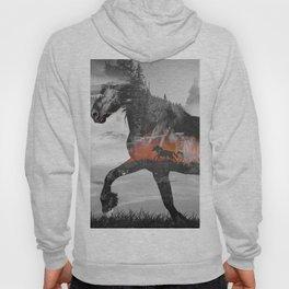 Black Horse Sunset Run Hoody