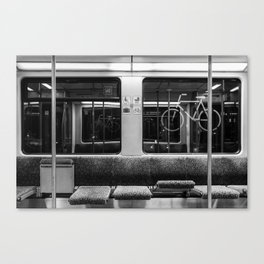 Berlin S-Bahn Canvas Print