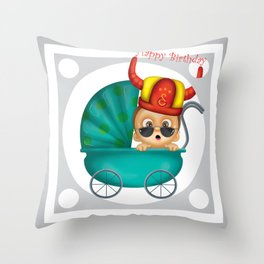 baby fans Throw Pillow
