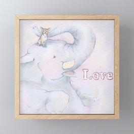 Real Love Framed Mini Art Print