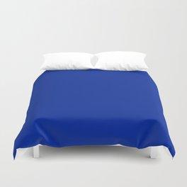 Imperial Blue - solid color Duvet Cover