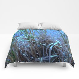 Blue Blades Comforters