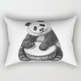 Panda playing percussion G140 Rectangular Pillow