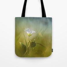 Cerastium fontanum subsp. vulgare  Tote Bag