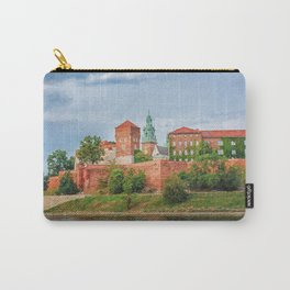 Drawing Wawel Castle and Vistula river, Krakow, Poland Carry-All Pouch