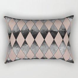Geometric Diamond Glam #1 #geo #decor #art #society6 Rectangular Pillow