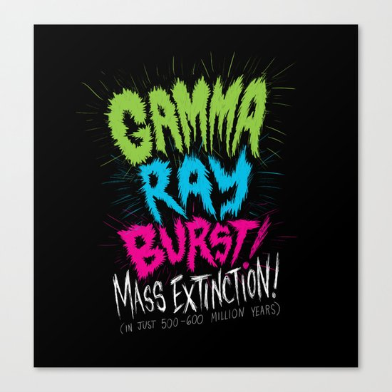 Gamma Ray Burst Canvas Print
