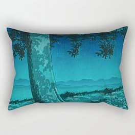 Nightime in Gissei Rectangular Pillow