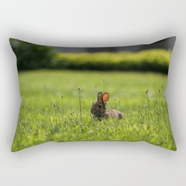Summer Bunny Rectangular Pillow