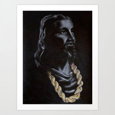 My Jesus Chain Art Print