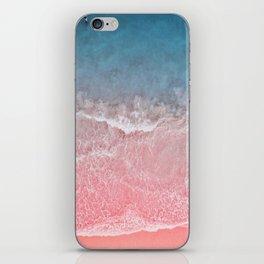 Bahamas pink blue iPhone Skin