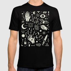 Witchcraft MEDIUM Mens Fitted Tee Black
