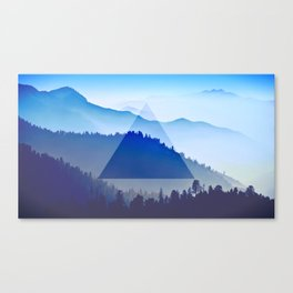 The Mountain Eye  Canvas Print