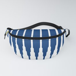 SQUARE LINES (BLUE) Fanny Pack