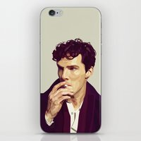 ben giles iPhone & iPod Skins featuring Ben by Grace Teaney Art