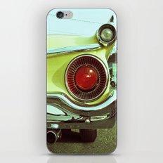 Classy taillight iPhone & iPod Skin
