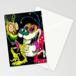 Monster Friends Stationery Cards