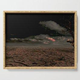 Desert Apocalypse Serving Tray