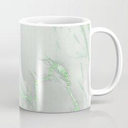 Marble Love Green Metallic Coffee Mug