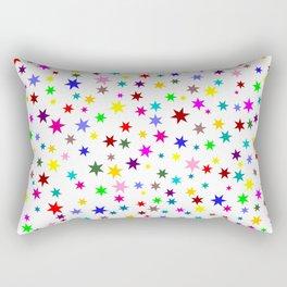 Colorful stars Rectangular Pillow