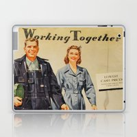 1942 Working Together Cover Laptop & iPad Skin