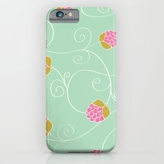 Raspberry Patch Aqua iPhone 6s Slim Case